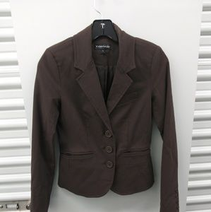 Rampage small brown jacket/ blazer
